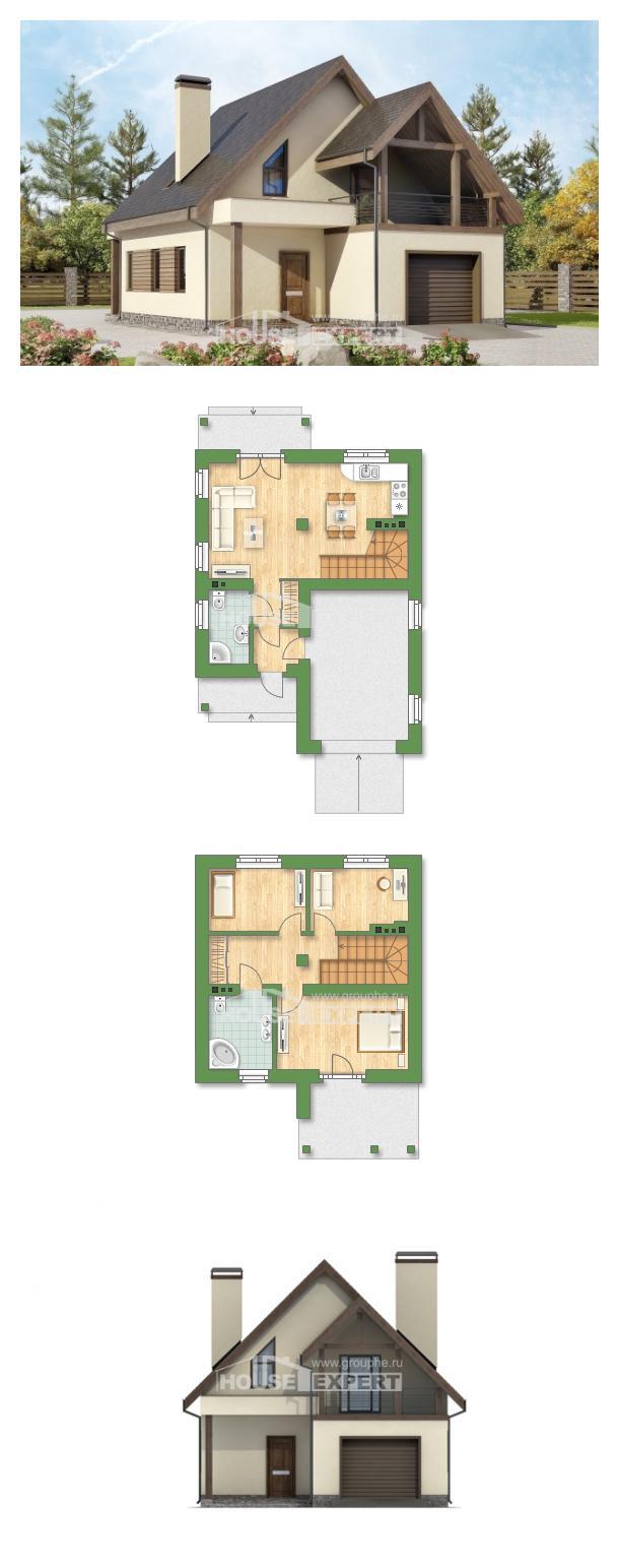 Проект дома 120-005-Л   House Expert