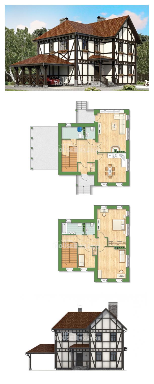 Проект дома 180-004-Л | House Expert