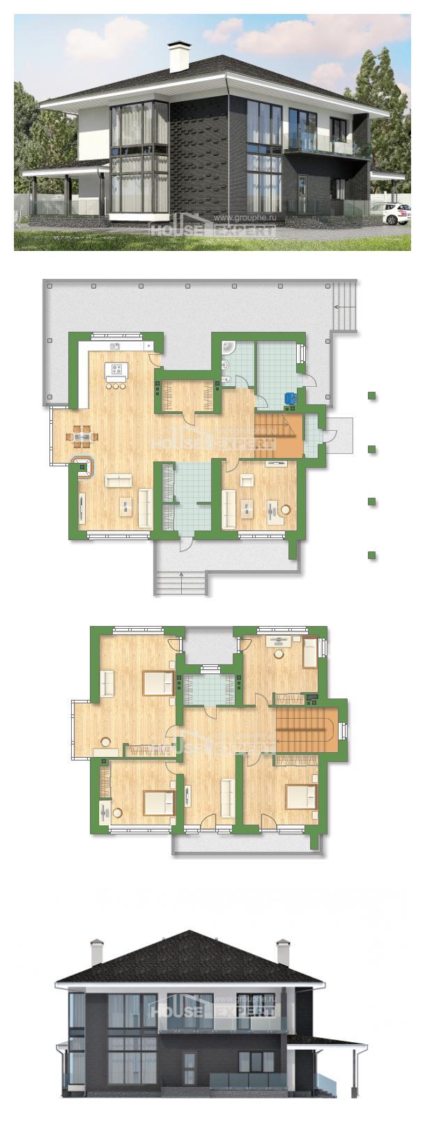 Проект дома 245-002-П   House Expert