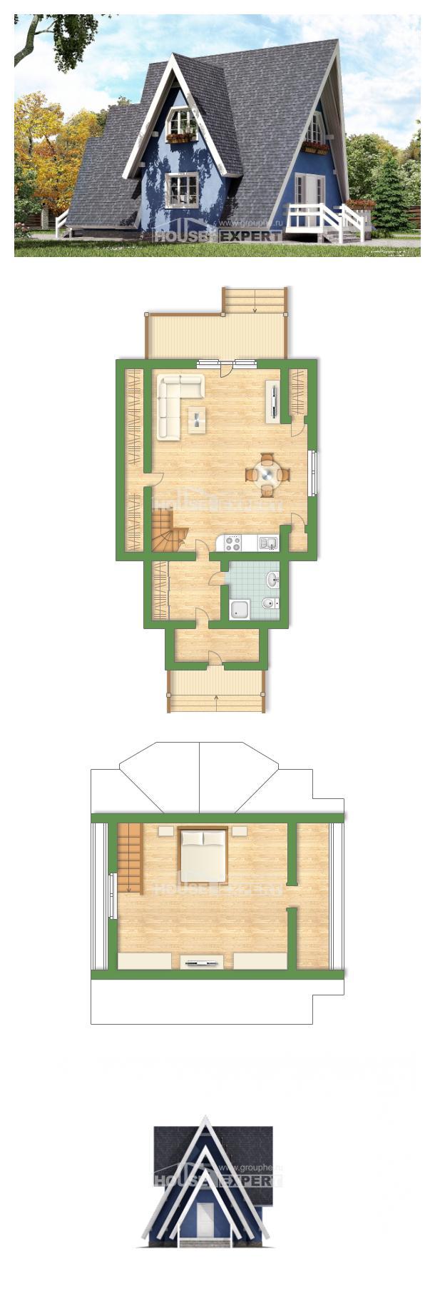 Проект дома 100-002-П | House Expert