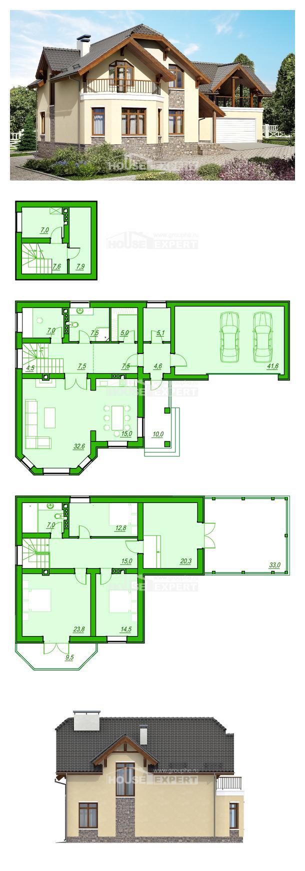 Проект дома 255-003-П   House Expert