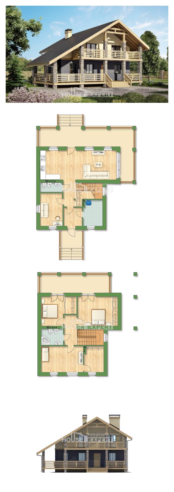 Проект дома 160-010-П | House Expert