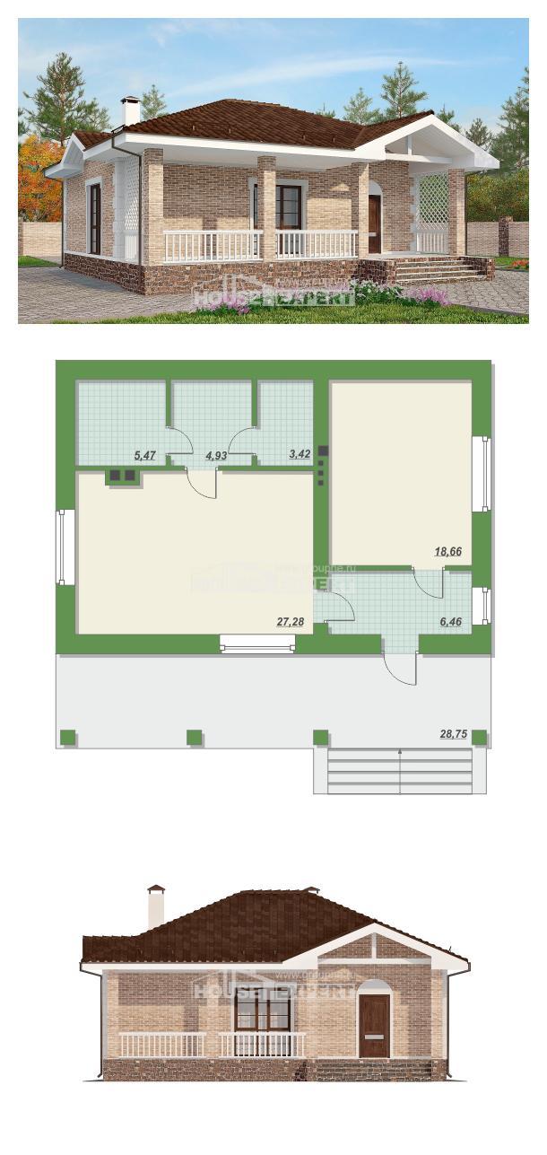 Проект дома 065-002-П | House Expert