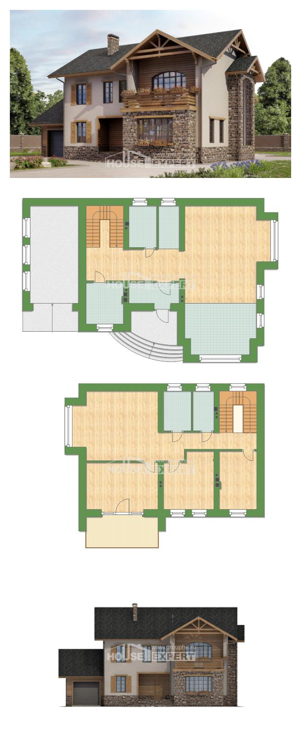 Проект дома 200-005-Л   House Expert